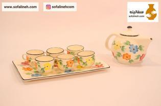 ست چای خوری گلدار