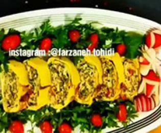 طرز تهیه ی کوکوی سبزیجات