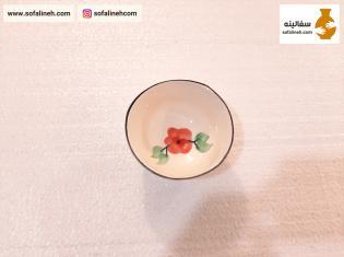 پیاله ترشی خوری گلدار