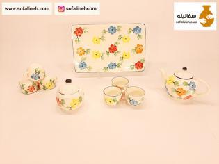 سرویس چایی خوری گلدار